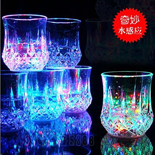 CNMQ-Gift Cup night light flashing light-emitting pineapple beer 7 , 7 Cup Carnival Multimedia