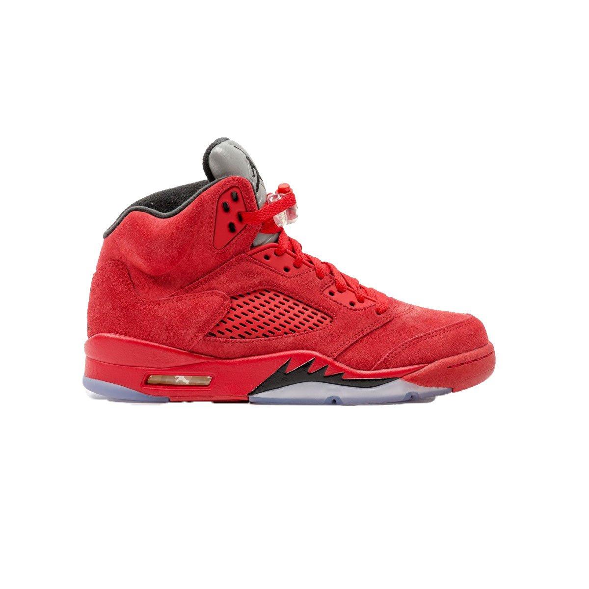University red, black Nike Men's Air Jordan 5 Retro Basketball shoes