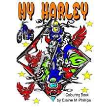 My Harley Colouring Book: Motorcycles (My Ride) (Volume 2)