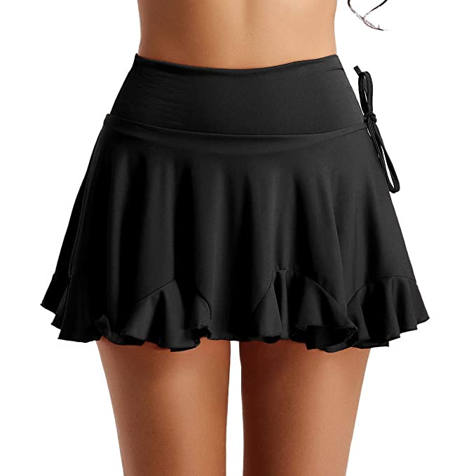 ranrann Falda de Baile Latino para Mujer Falda Corta de Danza ...