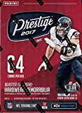2017 Prestige NFL Football Unopened Blaster Box of Packs with a Chance for EXCLUSIVE HELMET Memorabilia Cards Found only in this Type Box