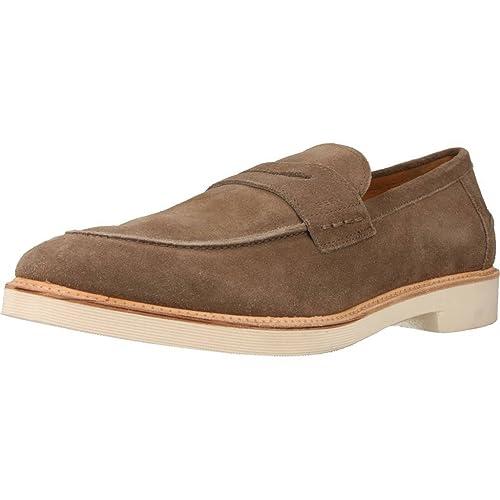 Mocasines para Hombre, Color Marrón, Marca Geox, Modelo Mocasines para Hombre Geox U DAMOCLE Marrón: Amazon.es: Zapatos y complementos