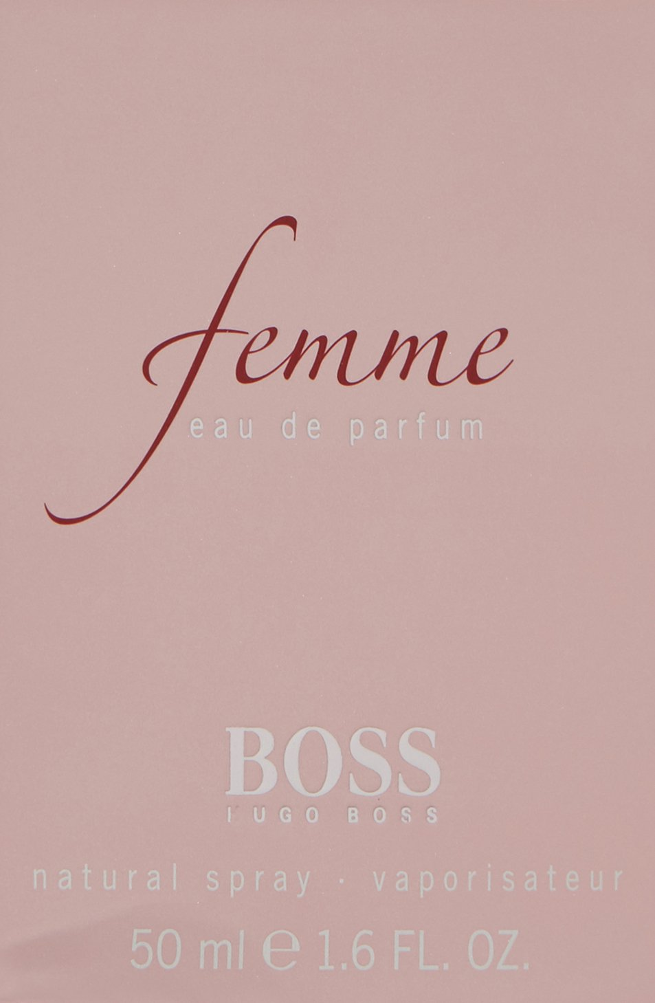 Hugo Boss Femme Femmewoman Eau De Parfum Vaporisateurspray 1er