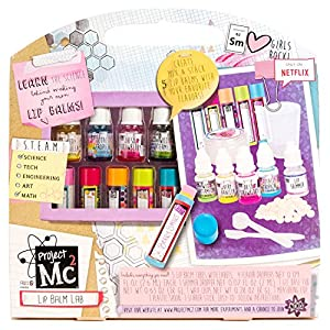 Amazon.com: Project Mc2 Create Your Own Lip Balm Lab Kit