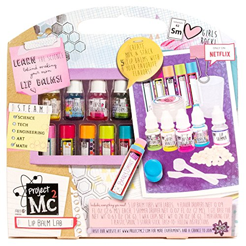 Project Mc2 Create Your Own Lip Balm Lab (Project Wax)