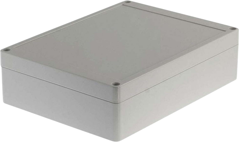 Eurosell Kunststoffgeh/äuse IP65 PC 200 x 150 x 55 mm Elektronische Geh/äuse Box Anschlu/ßdose Elektrik Anschluss Dose