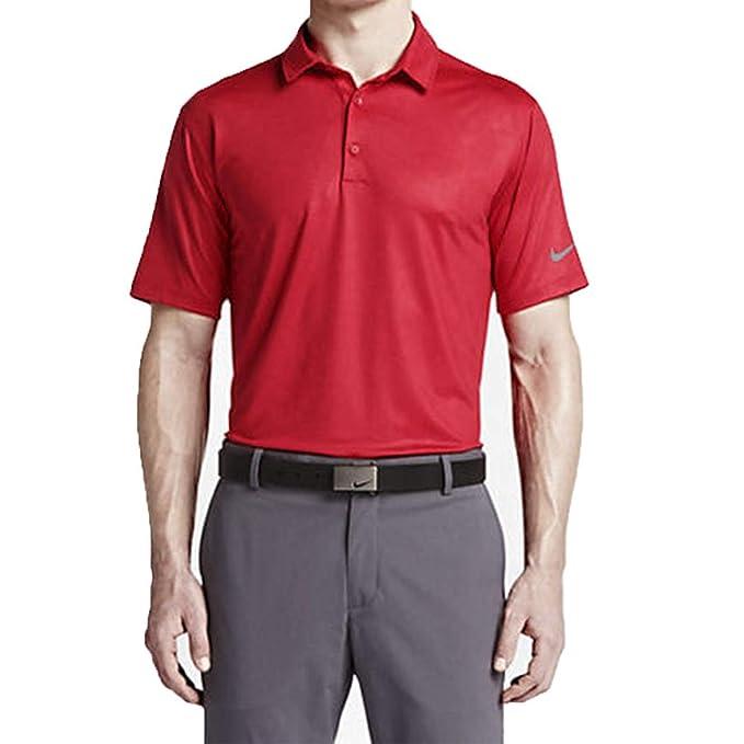 Nike Hombres de Movilidad Camuflaje Jacquard Golf Polo 2015 Negro ...
