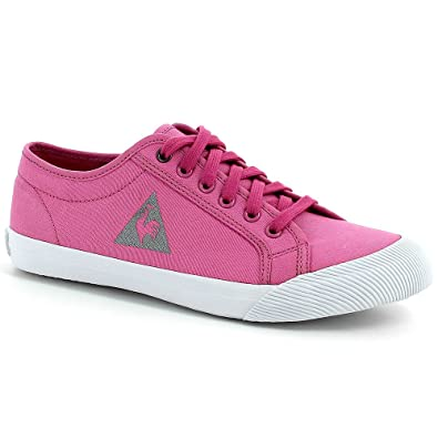 d8cda347aa67 Le Coq Sportif Deauville W Canvas Chaussure Femme Rose Taille 41 ...