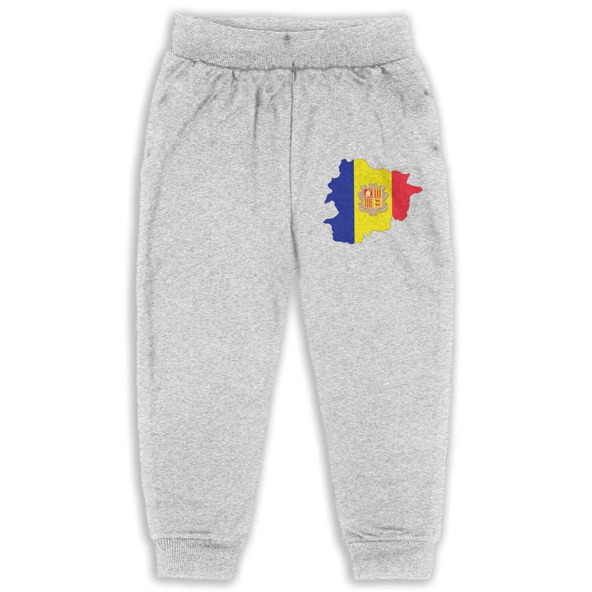 DaXi1 Macedonia Sweatpants for Boys /& Girls Fleece Active Joggers Elastic Pants