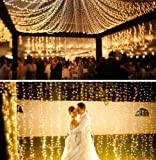 10M 100 LED Christmas Wedding Xmas Party Decor Outdoor Fairy String Light Lamp
