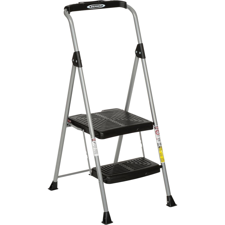 Sensational Werner Sp322 6 2 Step Steel Podium Step Stool 225 Lb Cap Alphanode Cool Chair Designs And Ideas Alphanodeonline