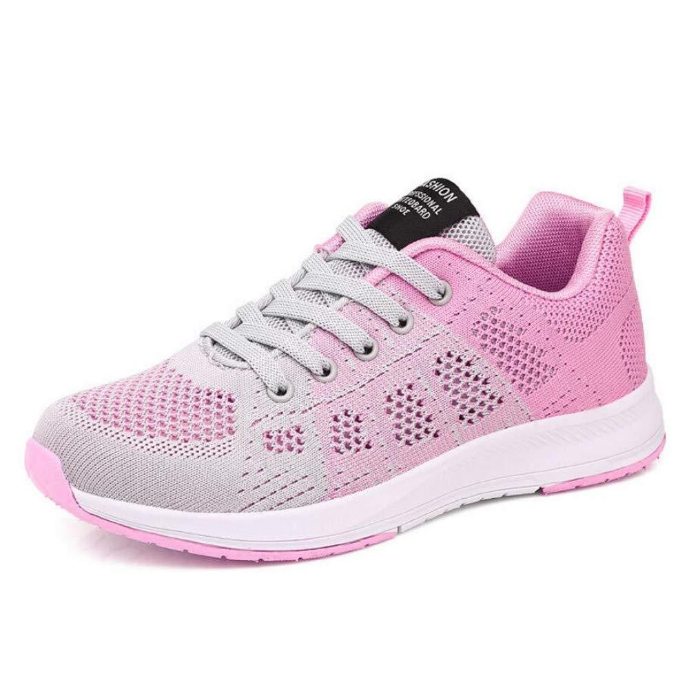 GUNAINDMX Sportschuhe Madam Frauen Mode Freizeitschuhe Weibliche Strick Mesh Air Schuhe Schuhe