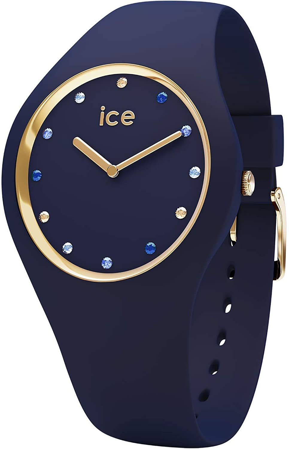ICE-WATCH Women's Quartz Watch with Silicone Strap, Pink, 14 (Model: 016301)