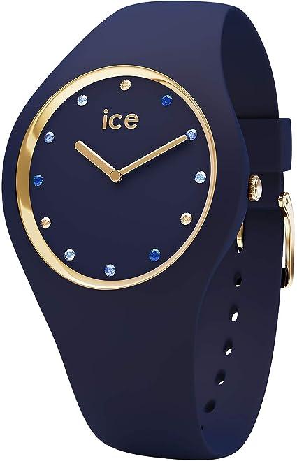 Ice-Watch - ICE cosmos Blue shades - Reloj blu para Mujer con Correa de silicona - 016301 (Small)