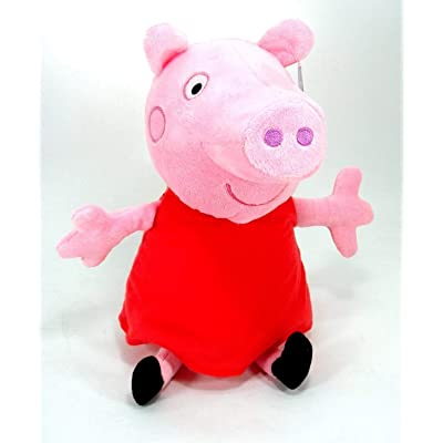 Peppa Pig 13.5 Plush Multicolor: Toys & Games