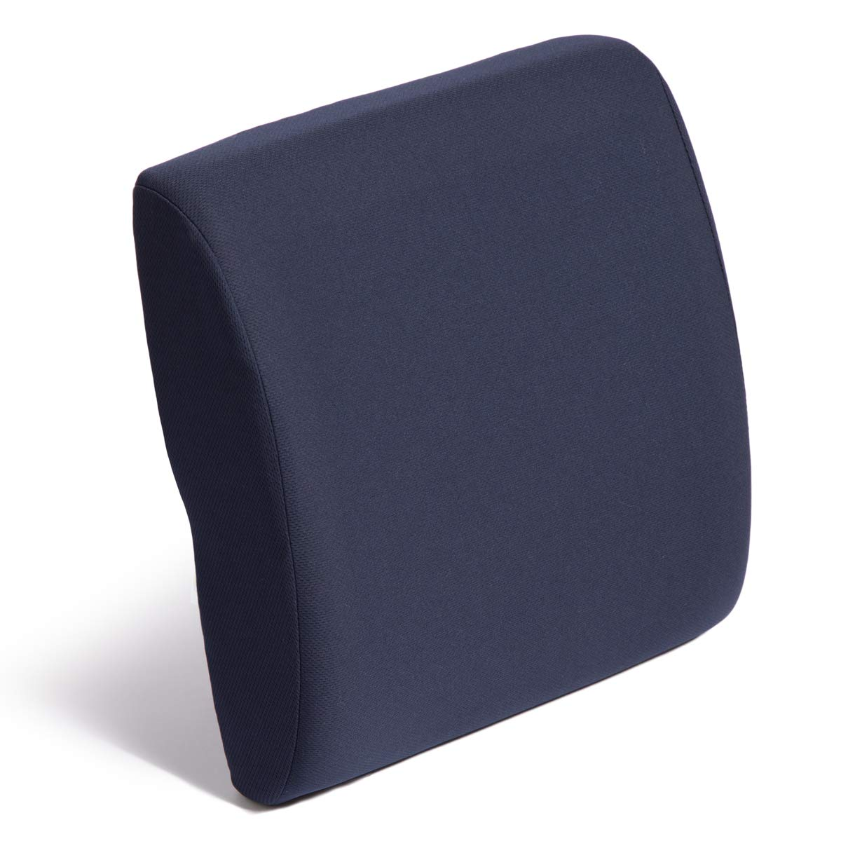 Bucketseat Lumbar Cushion with Navy Polycotton Zippered Cover & Strap Part No. LC2232NV Qty Per Case