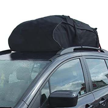 Roof Top Cargo Bag Car Water Reistance Rooftop Carrier Travel Storage Universal Cross Country