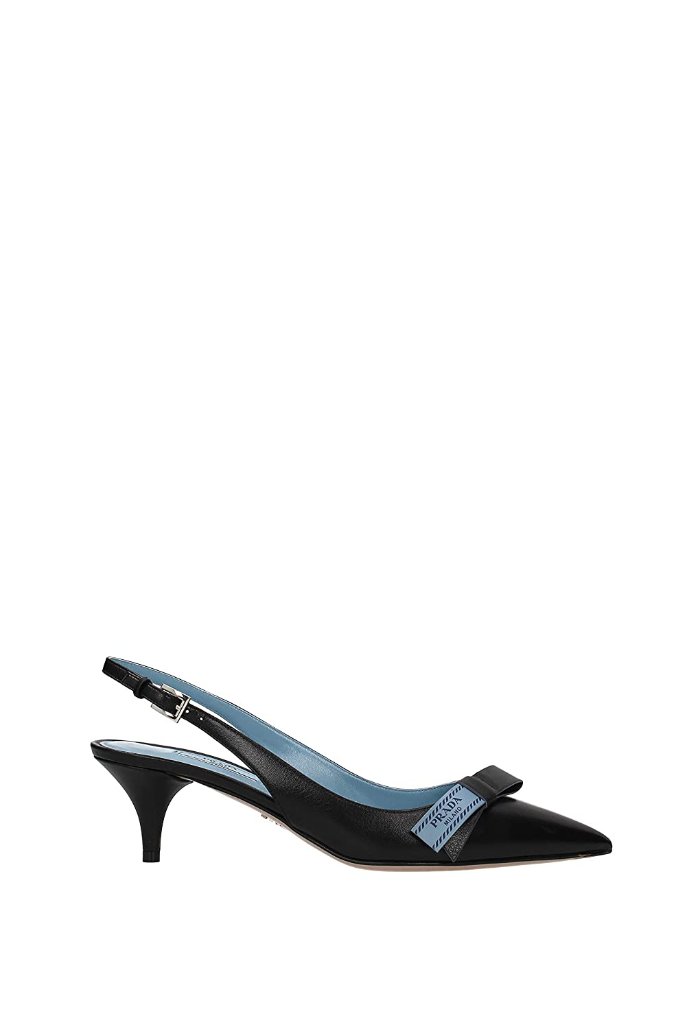 - Prada Women shoes Pumps Heeled Sandals EU 36.5 (US 6.5)   EU 38 (US 8)   EU 38.5 (US 8.5)   EU 40 (US 10) 100% Authentic bluee