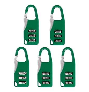 e17edf4b003d Senmir 3 Digit Combination Security Travel Luggage Suitcase Password ...
