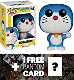 Doraemon: Funko POP! x Doraemon Vinyl Figure + 1 FREE Anime Themed Trading Card Bundle [63658]