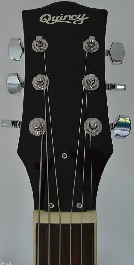Vancouver by QUINCY semi 6 cuerdas para guitarra eléctrica hueca forma de 335