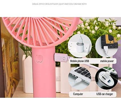 BYTGK Mini Ventilador de Mano for Ventilador de Escritorio y ...