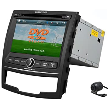 HD Pupug 7 pulgadas de coches RDS DVD GPS Radio Navegaci¨®n video Bluetooth