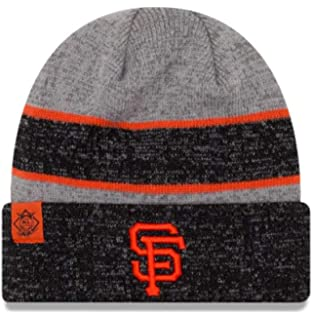 dbfb22cd7 New Era Hat San Francisco Giants Gray Black  Orange Beanie Knit 11453128