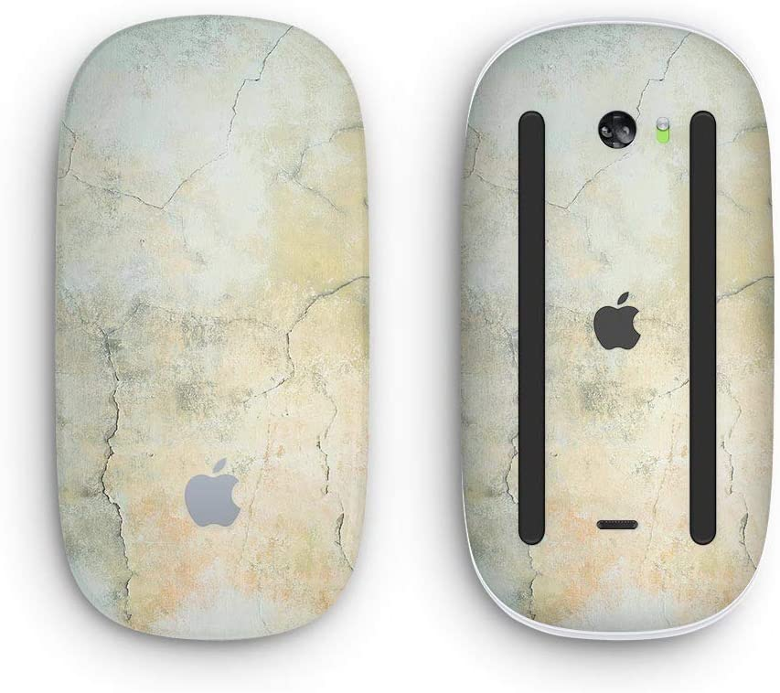 with Multi-Touch Surface Rustic Cracked Textured Surface V3 Wireless, Rechargable Design Skinz Premium Vinyl Decal for The Apple Magic Mouse 2
