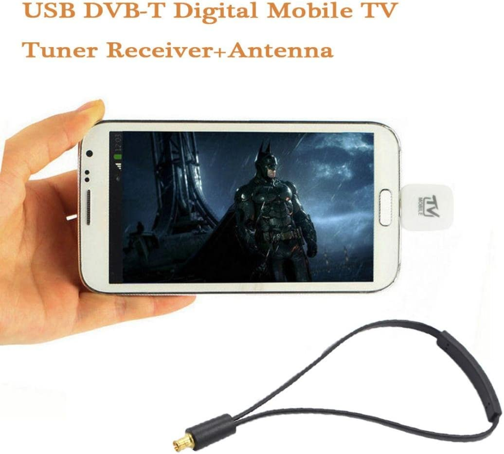 DVB-T TV Receiver Micro USB TV Tuner for Android Mobile Phone Tablet Soft