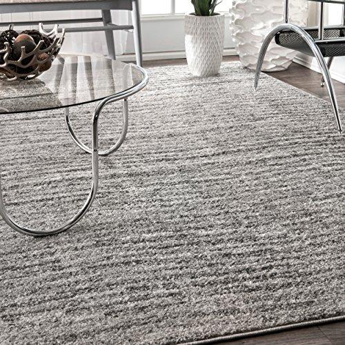 nuLOOM Contemporary Sherill Wind Area Rug, 3' x 5', Grey ()
