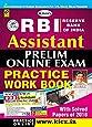 RBI Assistant Prelim Online Exam Practice Work Book for English Medium - 2044