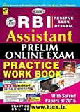 RBI Assistant Prelim Online Exam Practice Work Book for English Medium - 2044
