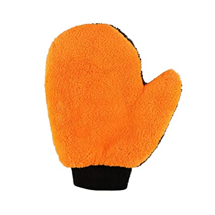 Cleaning Towels & Cloths Household Supplies & Cleaning Hearty Microfiber Soft Car Wash Glove Cars Cleaning Gloves Washing Plush Fabric Cloths