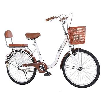 MLSH Bicicleta de Viaje for Damas Vintage, 20 ′ ′ 22 ′ ′ ′ ′ ′ al ...