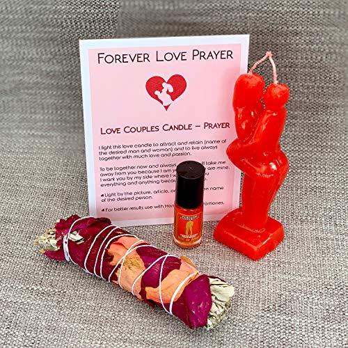 (My Lumina Love & Attraction - Come to me Candle Kit - Love Passion Ritual Spell Kit Effective - Vela Roja Atraccion y Endulzamiento para Rituales y Hechizos de Amor)
