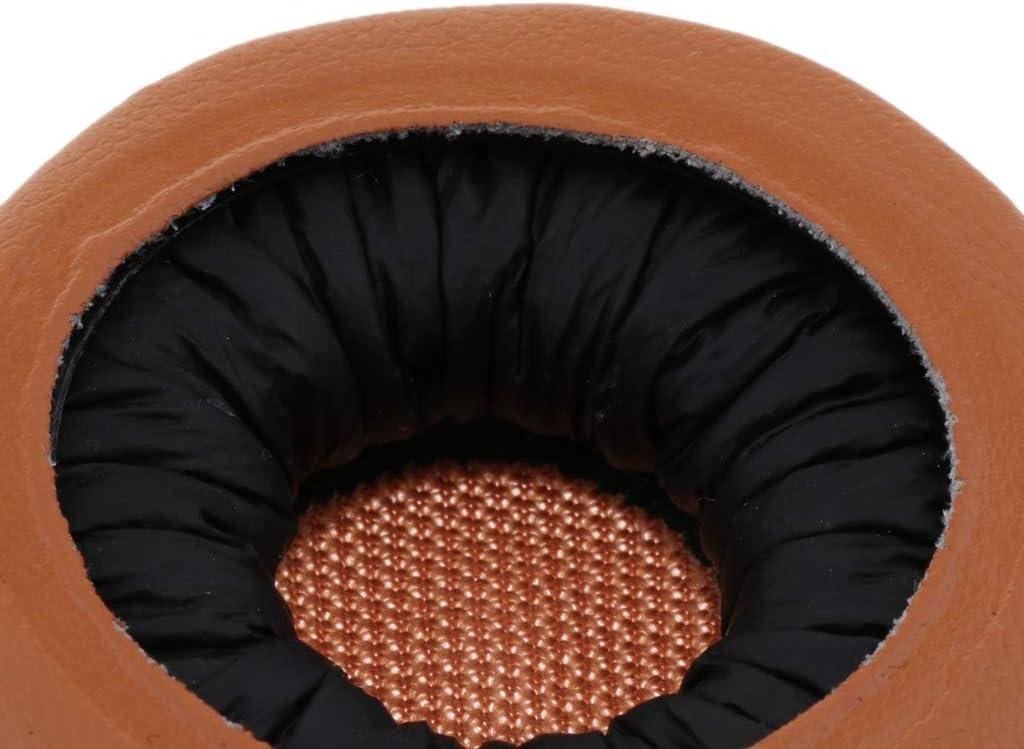 Caqui non-brand Almohadillas de Esponja C/ómodo Compatible con Auriculares AKG Y45BT Piezas de Recambio