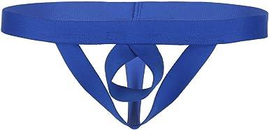 Unterwäsche Slips Unterhosen Einfarbig Bikini-Style Bandage Jockstrap Low Rise