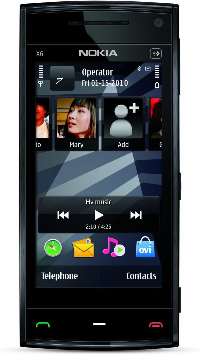 Nokia X6 16GB Negro - Smartphone (8,13 cm (3.2