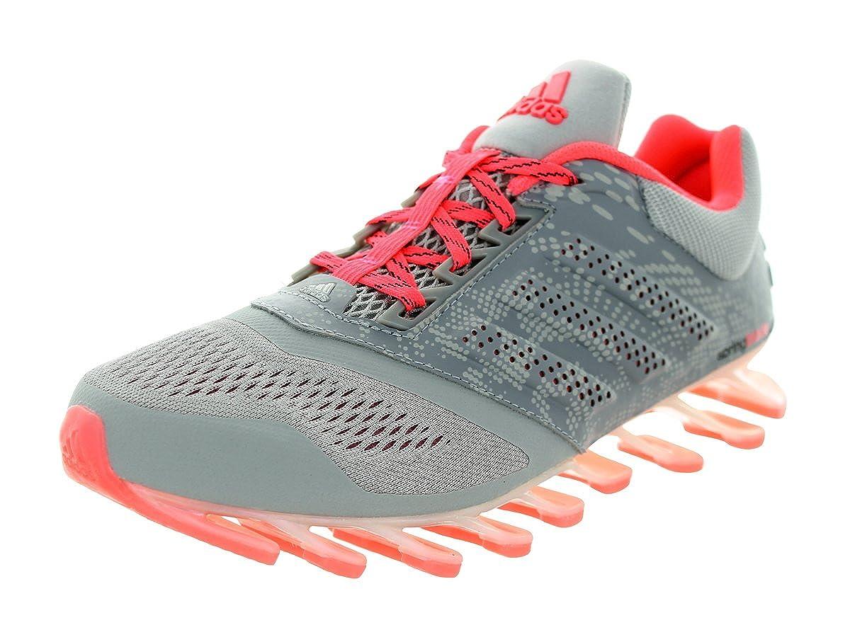 adidas Women s Springblade Drive 2 Grey Metallic Silver Pink Running Shoe
