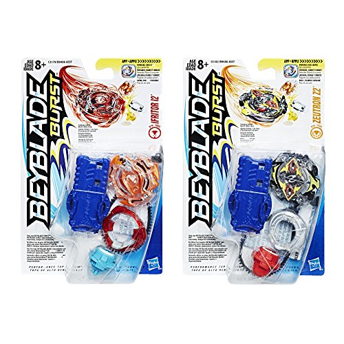 Beyblade Burst 2-Pack Value Starter Pack Ifritor I2 and Zeutron Z2 - http://coolthings.us