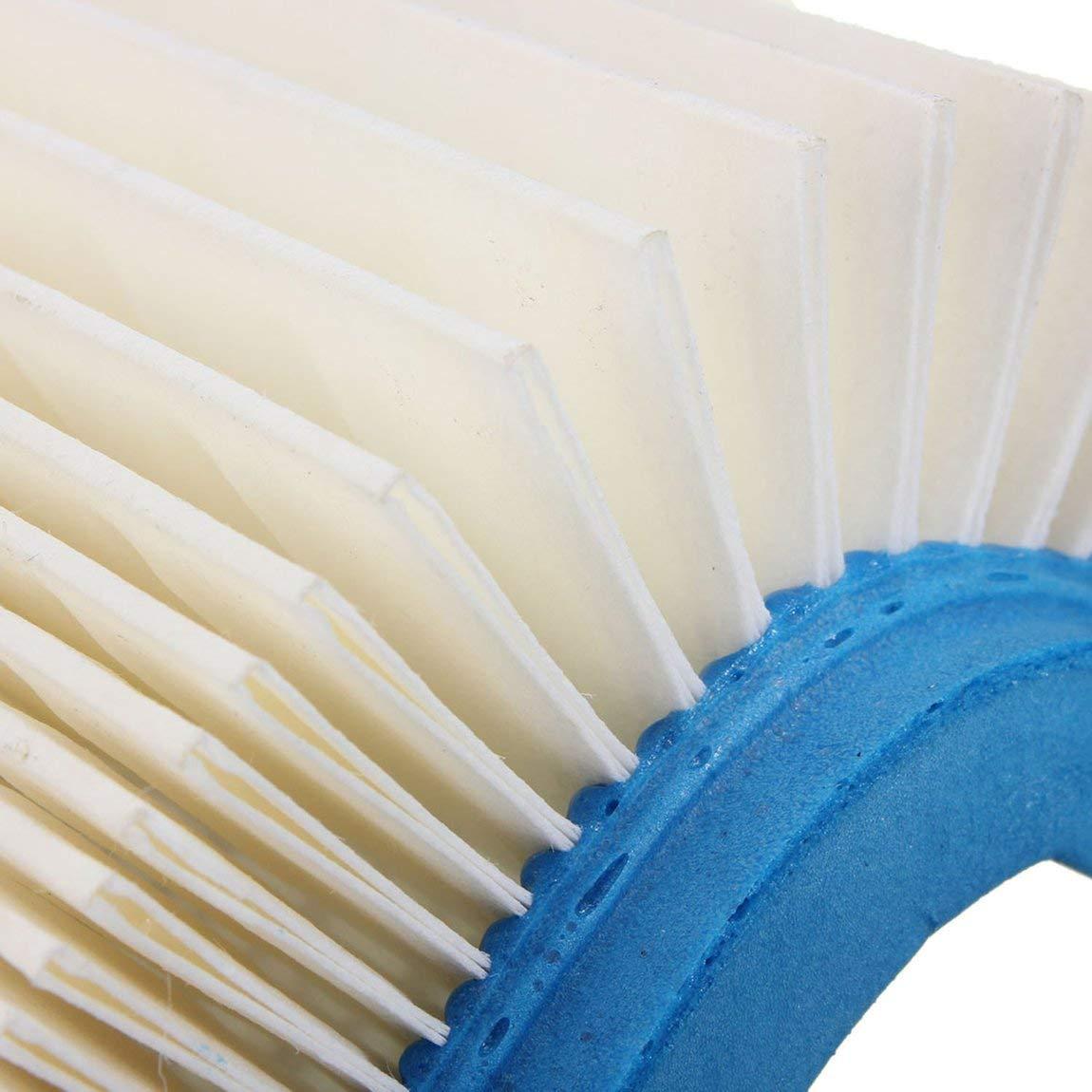 2 St/ücke Luftfilter F/ür Tecumseh 36046 740061 Craftsman 33325 Motoren Rasenm/äher farbe: Blue /& White
