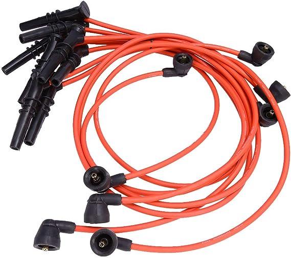 Juego de cables de bujía para Ford Lincoln Mercury Grand Marquis F-150 F-250 E-150 Corona Victoria V8 4,6 L (8 unidades): Amazon.es: Coche y moto