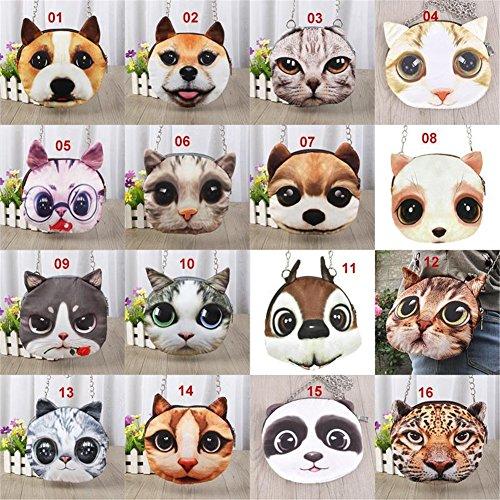 Animal 011 Chain FANMURAN Cartoon Handbag Shoulder Pattern LTB 3D Small Bags Strap EHExqfPw