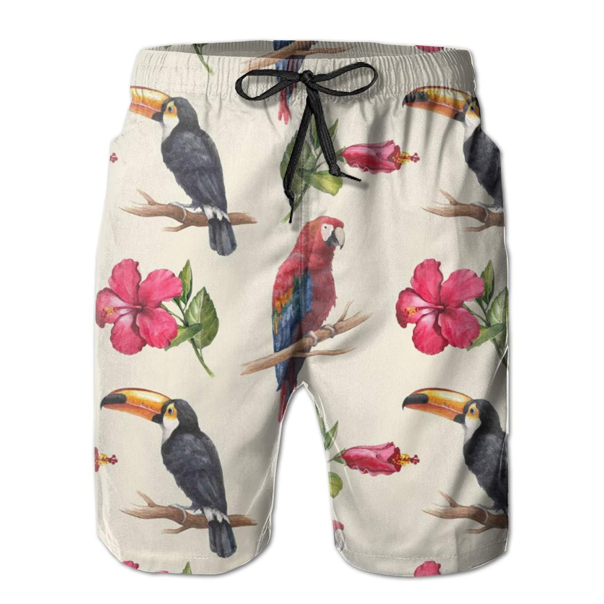 Eofjbg Fashion Mens Tucano Beach Shorts Board Shorts Casual Shorts Swim Trunks