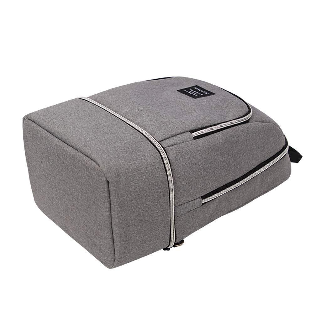 Yinoot Bolsa para Almuerzo Port/átil para Viaje//Picnic//Playa,Aislada Bolso de Mano Snacks Reutilizable con Zipper