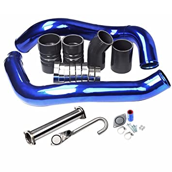 EGR Borrar Kit Kit de arranque y & Turbo Intercooler Pipe CAC para Ford 03 –