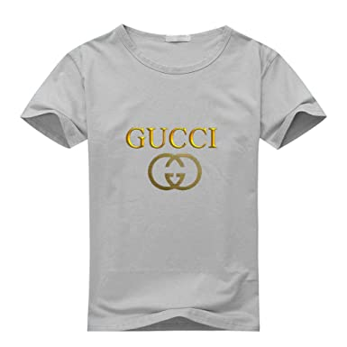 2edb7ec9366 Gucci Boys Girls T-Shirt Tee Outlet  Amazon.co.uk  Clothing
