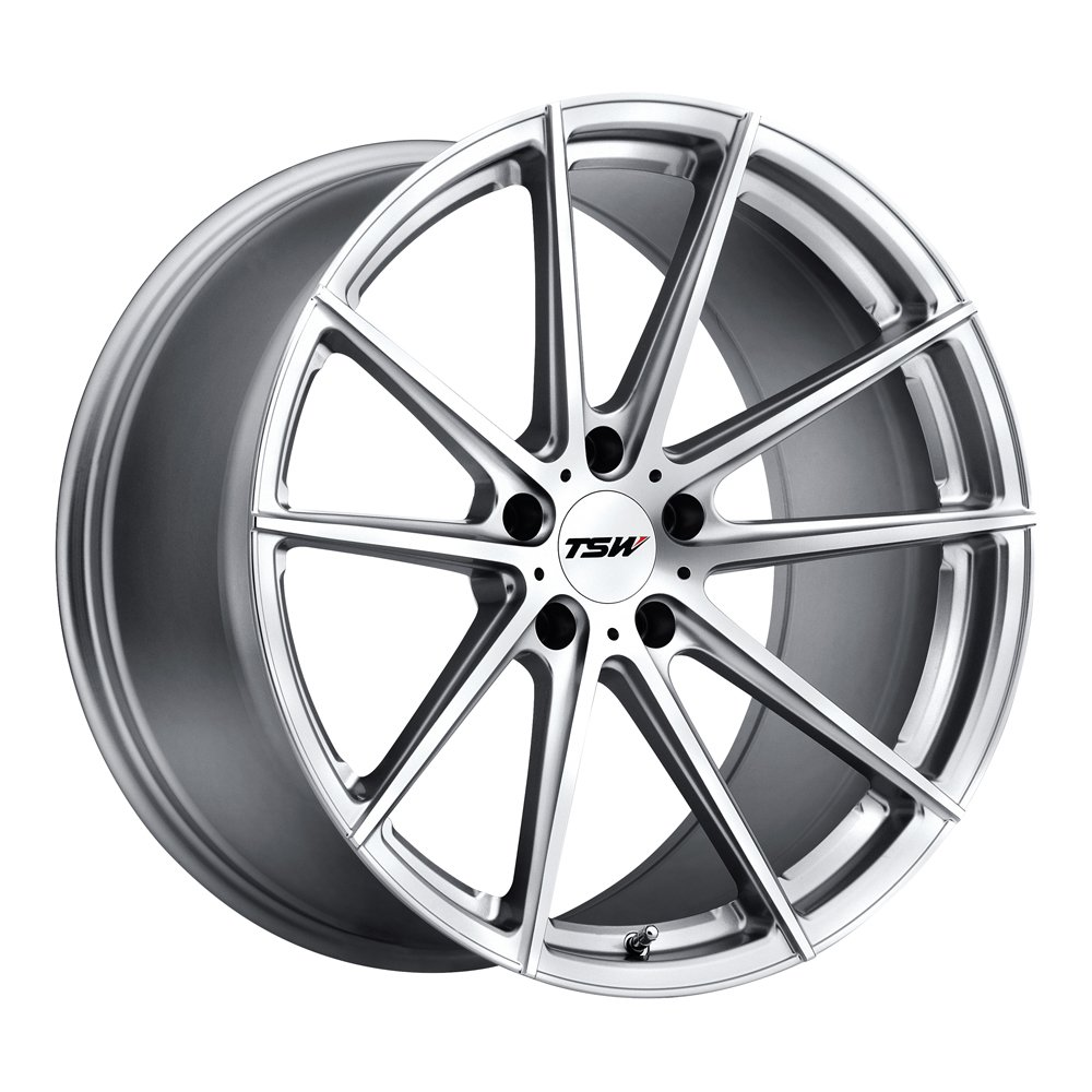 TSW BATHURST Silver Wheel (20x10''/5x114.3mm ,+40mm offset)