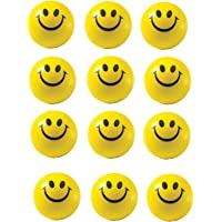 Smiley face Squeeze Ball Soft Ball Pack of 12 Ball